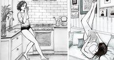 Esta ilustradora mexicana capta perfectamente la belleza de la vida soltera | Bored Panda