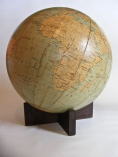 World Globe Vintage WW2 U.S. Military limited edition dated 1943 War Map #WeberCostello