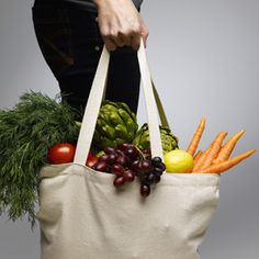 How to clean your reusable grocery bags (you've been forgetting to do it, haven't you?) #cleaning