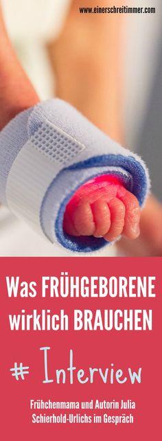 Was Frühgeborene und Frühchen-Eltern wirklich brauchen: Autorin Julia Schierhold-Urlichs im Interview.