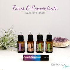 """Dr. Mariza: Hormone Expert on Instagram: """"Rosemary 🌿 essential oil baby!! It's time to banish that brain fog 🤯. Check out my Focus and Concentration Blend below 👇. . How does…"""""""