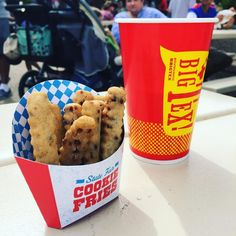Had to try the #Cookie fries at the #statefairoftx - may be an winner but not a fan. On to the next - plenty of choices! #dallasdweller #Lifestylist List