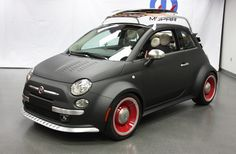 Love the Mopar Fiat 500 Beach Cruiser but they should know the surf board is backwards