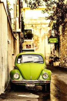Other than the color - this looks just like my old VW Bug. Wish I still had