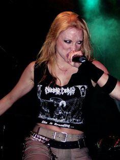 Angela Gossow, Rock Star Outfit, Ladies Of Metal, Heavy Metal Girl, Alissa White, Women Of Rock, Rocker Chick, Arch Enemy, Badass Women