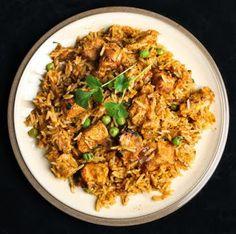 Traditional Bahraini Chicken Machboos Recipe