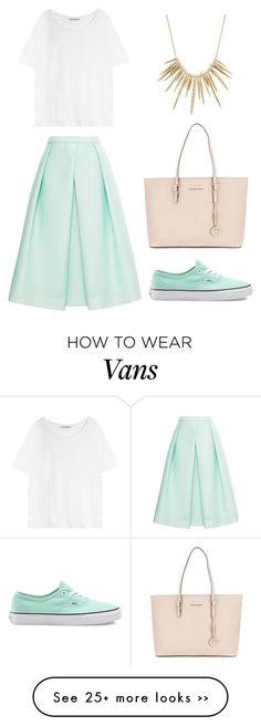 """""""Без названия #1"""" by meamoures on Polyvore featuring TIBI, Acne Studios, Vans, Michael Kors and Alexis Bittar"""