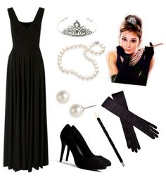 Aaaah, Breakfast at Tiffanys! Who doesn't want to look like that?!
