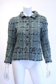 Vintage CHANEL Haute Couture Boucle Jacket Now at Rice and Beans Vintage!  www.RiceAndBeansVintage.com