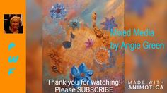 Mixed Media Song of Thanks