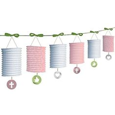 Amscan International Paper Lantern Garland Pink ** You can find more details by visiting the image link. (This is an affiliate link)