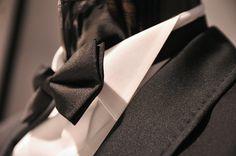 black-tie-dress-code #bowtie #bow #midge #suit #blacksuit