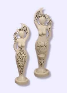Pentacle Goddess statue Abby Willowroot-Sacred Source