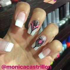 Diseños jershell Fingernail Designs, Nail Art Designs, Spring Nails, Summer Nails, Nail Manicure, Pedicure, Cute Nails, Pretty Nails, Hello Nails