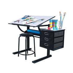 1000 images about organize it on pinterest popsugar for Art and craft desk with storage