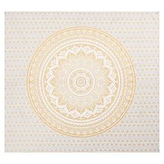 Printed Tapestry, Gold/White #pbteen