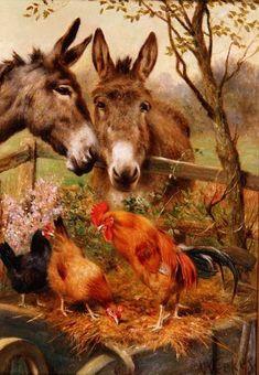 Best of Friends - Herbert William Weeks (English, 1864-1904)