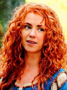 The perfect Merida.....but she looks like she's about 19, as opposed to the Disney version.