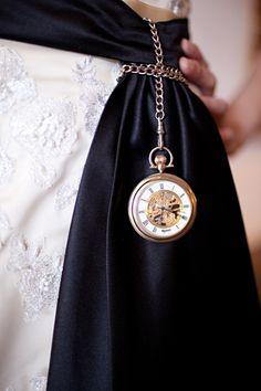 steampunk wedding bride