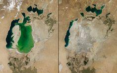 Schockierende NASA-Fotos: Unser zerstörerischer Einfluss auf die Erde