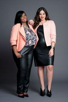 This Plus Brand's Best Customer Is Now Fronting Its Lookbook  Eloquii Plus Size Fashion Real Women Models http://www.refinery29.com/eloquii-plus-size-fashion-real-women-models#slide