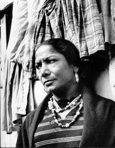 Carmen Amaya (2 November 1918 – 19 November 1963) was a flamenco dancer and singer, of Romani origin, born in the Somorrostro slum of Barcelona, Spain, Vila Olímpica nowadays.