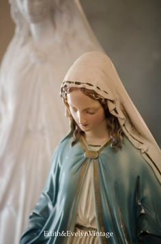 Vintage Miraculous Mary Statue From Closed by edithandevelyn