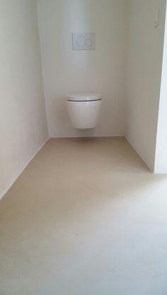 Bathroom floor - micro cement
