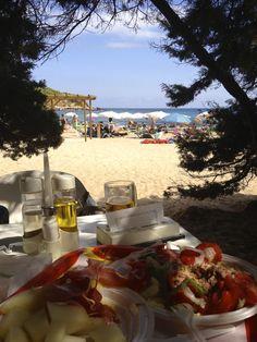 Even on Plastic Plates its Delightful Ibiza, Spain