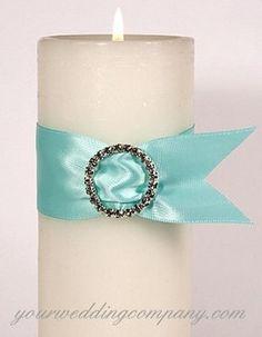 Wedding, Reception, Centerpiece, White, Ceremony, Blue, Candle, Aqua