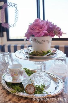 Tea Party by the Sea - Alice in Wonderland Tea Party Ideas