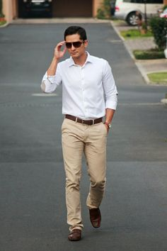 Gents Style Academy work attire casual business man men's fashion #fancyhansy