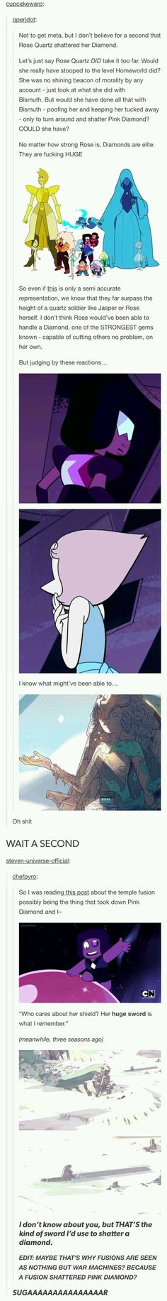 Idk I feel like in some cases fusions are the gem equivalent of a marriage.