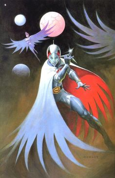 Battle of the Planets pinup by Alex Horley