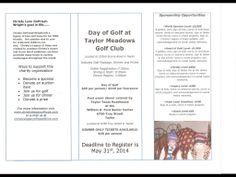 Golf Registration Form Back