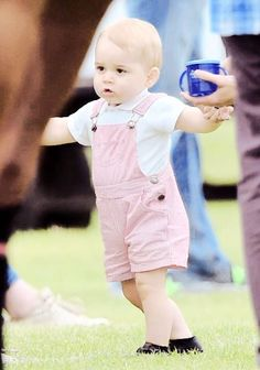 Prince George at the Polo on Fathers Day