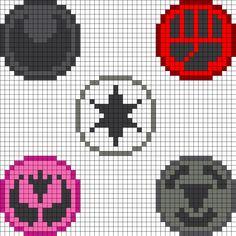 Pokemon Elements Pt2 Perler Bead Pattern