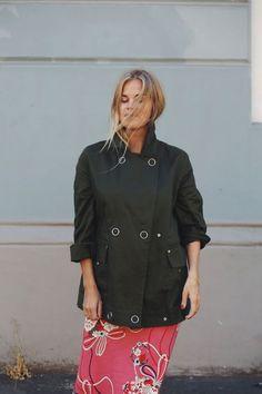 MILITÆR (Elen) Chef Jackets, Shirt Dress, Lifestyle, My Style, Shirts, Outfits, Dresses, Fashion, Vestidos