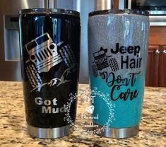 Jeep tumbler for him for her Vinyl Tumblers, Personalized Tumblers, Custom Tumblers, Glitter Cups, Glitter Tumblers, Acrylic Tumblers, Jeep Stickers, Jeep Decals, Ozark Tumbler