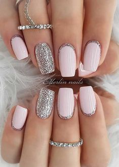 35 Pretty nail art designs for any occasion - - 35 Pretty nail art designs for any occasion Nails wedding nail designs for brides, nails with glitter, nails for wedding guest , glitter nail designs , nail trends 2020 Colorful Nail Designs, Acrylic Nail Designs, Glitter Nail Designs, New Nail Designs, Nail Designs For Weddings, Nail Designs For Summer, Gel Manicure Designs, Colorful Nails, Different Nail Designs
