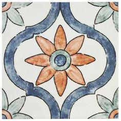 """Avaricon 7.875"""" x 7.875"""" Ceramic Field Tile in Arco"""