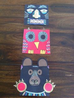 Pacific Northwest Totem Pole ideas - from Drip, Drip, Splatter Splash Totem Pole Art, Totem Poles, Group Art Projects, 2nd Grade Art, Second Grade, Ecole Art, Canadian Art, Thinking Day, Art Lessons Elementary