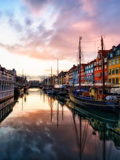 Copenhagen,Denmark...all of Scandinavia is on my travel wish list.