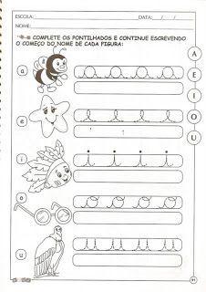 Tindolele 5 E 6 Anos 1 Atividade Alfabeto Educacao Infantil