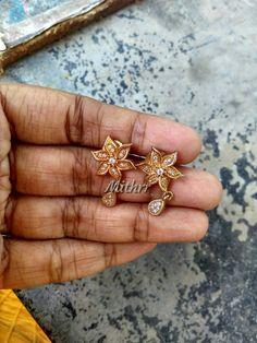 Indian Jewellery Design, Jewellery Designs, Oxidised Jewellery, Gold Jewellery, Imitation Jewelry, India Jewelry, Ear Rings, Costume Jewelry, Gold Earrings