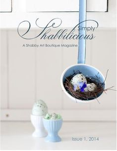 Simply shabbilicious magazine issue 1, 2014