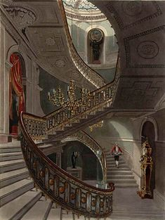 grand staircases in houses | Carlton House | Patrick Baty – Historical paint consultant