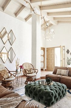 Boho glam home decor ; boho glam home decor Boho Glam Home, Boho Chic, Shabby Chic, Home Design, Interior Design, Room Interior, Glam Living Room, Living Room Decor, Living Rooms