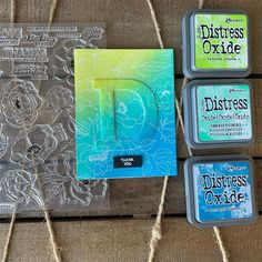 Spent a bit of mothers day using my favorite technique - emboss resist with distress ink blending - and the May kit from I… Distress Ink Techniques, Embossing Techniques, Card Making Inspiration, Making Ideas, Alcohol Ink Crafts, Art Journal Tutorial, Anna Griffin Cards, Distress Oxide Ink, Tampons