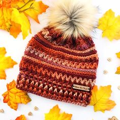 Crochet Beanie Ideas Ravelry: The Tempest Beanie pattern by Above The Clouds Crochet - Crochet Beanie Pattern, Crochet Cap, Crochet Scarves, Free Crochet, Crochet Headbands, Crochet Dolls, Crochet Clothes, Knitting Projects, Crochet Projects